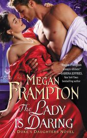 Cover The Lady Is Daring oleh Megan Frampton