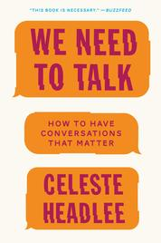 Cover We Need to Talk oleh Celeste Headlee