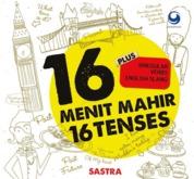 Cover 16 MENIT MAHIR 16 TENSES oleh Sastra