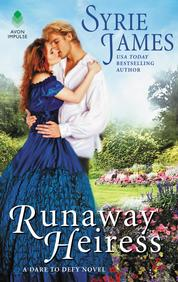 Cover Runaway Heiress oleh Syrie James
