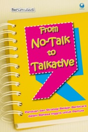 Cover From No-Talk to Talkative oleh Bertimuliadi