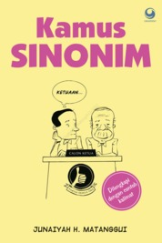 Cover Kamus Sinonim oleh Junaiyah H.M.
