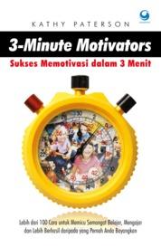 Cover 3 Minute Motivators oleh Kathy Paterson