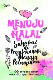 Cover Menuju Halal oleh @DiaryPernikahan