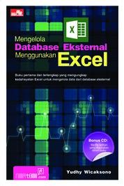 Cover Mengelola Database Eksternal Menggunakan Excel oleh Yudhy Wicaksono