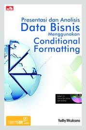 Cover Presentasi dan Analisis Data Bisnis Menggunakan Conditional Formatting oleh Yudhy Wicaksono