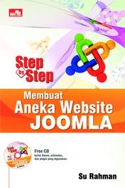 Step By Step Membuat Aneka Website Joomla by Su Rahman Cover