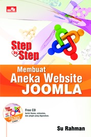 Cover Step By Step Membuat Aneka Website Joomla oleh Su Rahman