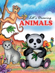 Lets Drawing Animals by Tri Harianto Cover