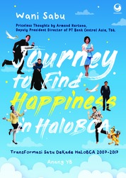 Cover Journey to Find Happiness in HaloBCA oleh Wani Sabu
