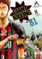 LC: Giant Killing 31 by Masaya Tsunamoto / Tsujitomo Cover