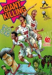LC: Giant Killing 32 by Masaya Tsunamoto / Tsujitomo Cover