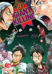 LC: Giant Killing 33 by Masaya Tsunamoto / Tsujitomo Cover