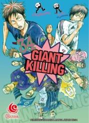 LC: Giant Killing 34 by Masaya Tsunamoto / Tsujitomo Cover