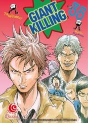 Cover LC: Giant Killing 35 oleh Masaya Tsunamoto / Tsujitomo