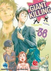 Cover LC: Giant Killing 36 oleh Masaya Tsunamoto / Tsujitomo