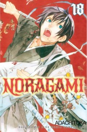 Cover Noragami 18 oleh Adachitoka