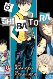 Cover LC: Shibatora 08 oleh Yuma Ando / Masashi Asaki