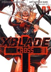 Cover LC: X Blade + -Cross- 07 oleh Shiki Satoshi & Ida Tatsuhiko