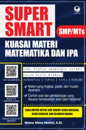 Cover Super Smart Kuasai Matematika dan IPA SMP/MTs oleh Ratna Rima Melati, S.Si.