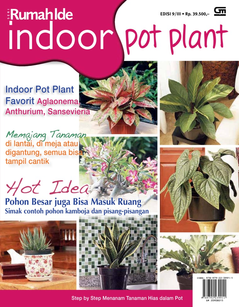 Seri Rumah Ide - Indoor Pot Plant by Imelda Akmal Architectural Writer Studio Digital Book