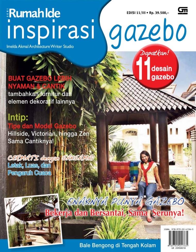 Seri Rumah Ide - Inspirasi Gazebo by Imelda Akmal Architectural Writer Studio Digital Book
