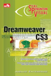 Seri Penuntun Visual - Dreamweaver CS3 by Jubilee Enterprise Cover
