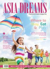Cover Majalah ASIA DREAMS Juli–Agustus 2015