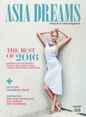 Cover Majalah ASIA DREAMS November–Desember 2016