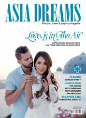ASIA DREAMS Magazine Cover January–February 2018