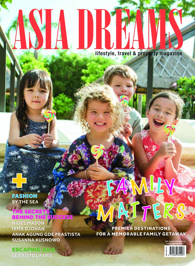 Majalah Digital ASIA DREAMS Juli-September 2018