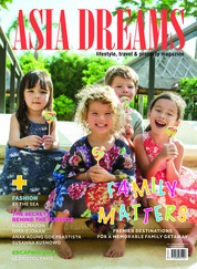 Cover Majalah ASIA DREAMS Juli-September 2018
