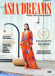 ASIA DREAMS Magazine Cover October-January 2019