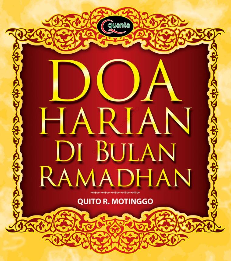 Doa Harian di Bulan Ramadhan by Quito Riantori Motinggo Digital Book
