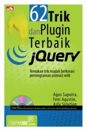 62 Trik dan Plugin Terbaik jQuery by Agus Saputra Cover