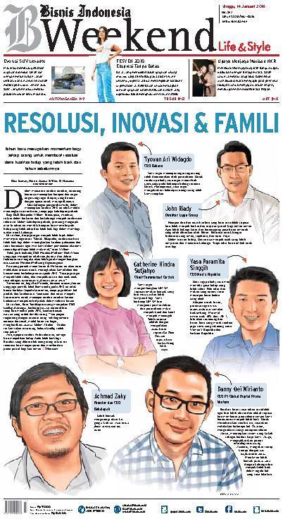 Koran Digital Bisnis Indonesia 14 Januari 2018