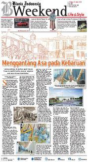 Cover Bisnis Indonesia 18 Maret 2018