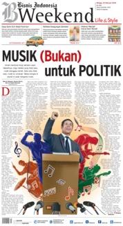 Cover Bisnis Indonesia 16 Februari 2018