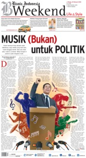 Cover Bisnis Indonesia 18 Februari 2018