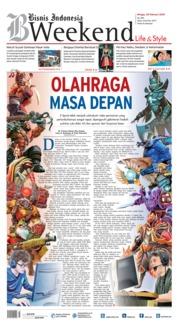 Cover Bisnis Indonesia 25 Februari 2018