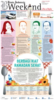 Cover Bisnis Indonesia 27 Mei 2018