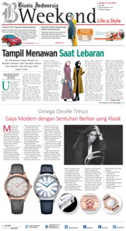 Cover Bisnis Indonesia 10 Juni 2018