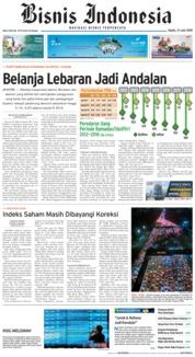 Cover Bisnis Indonesia 21 Juni 2018