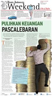 Cover Bisnis Indonesia 24 Juni 2018