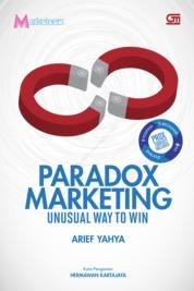 Cover Paradox Marketing oleh Arief Yahya