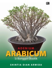 Cover Adenium Arabicum oleh Shintia Dian Arwida