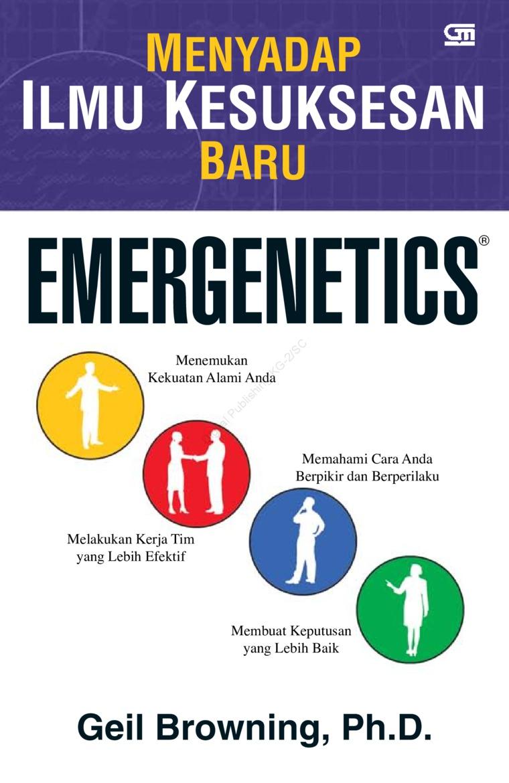 Buku Digital Emergenetics Menyadap ilmu Kesuksesan oleh Geil Browning, PhD