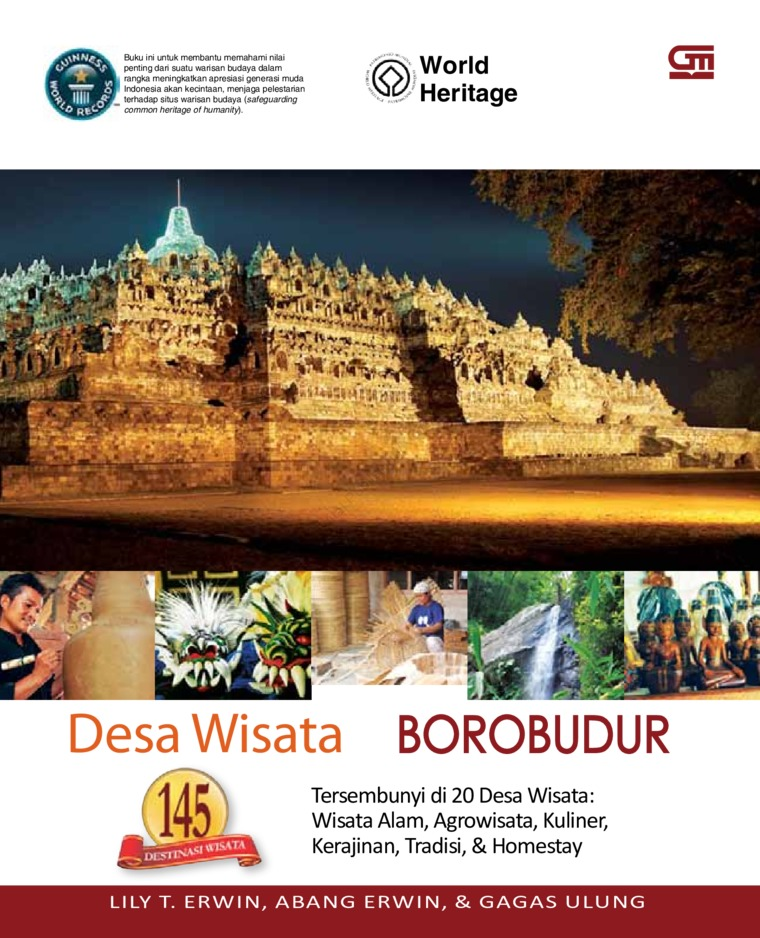 Desa Wisata Borobudur by Lilly T. Erwin Digital Book