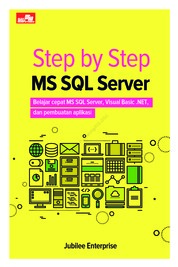 Step by Step MS SQL Server by Jubilee Enterprise Cover