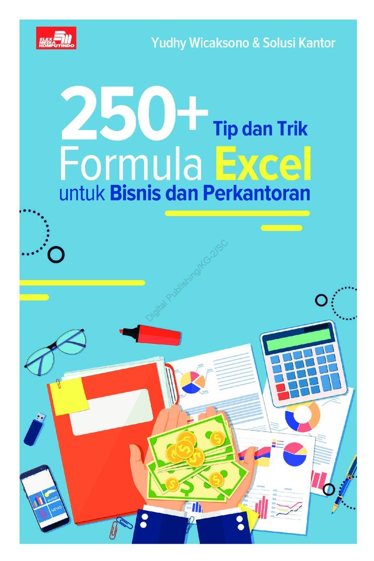 Buku Digital 250+ Tip dan Trik Formula Excel untuk Bisnis dan Perkantoran oleh Yudhy Wicaksono & Solusi Kantor